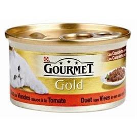 Gourmet Gold tomaat/rund 85gr 24x