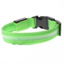 Led halsbandje licht groen