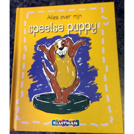 Kluitman kinderboekje speelse puppy