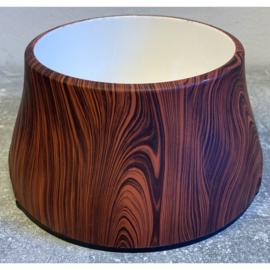 Hagen voer/drinkbak houtprint