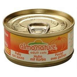Almo Nature cat kip/pompoen 70gr