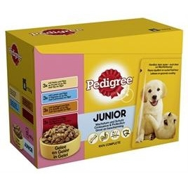 Pedigree multipack pouch junior 100gr 12x