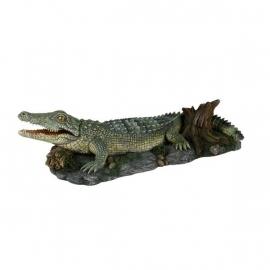 Krokodil met luchtfunctie