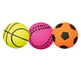Sportbal drijvend paars