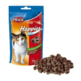 Trixie Happies kip/kaas light 50 gram