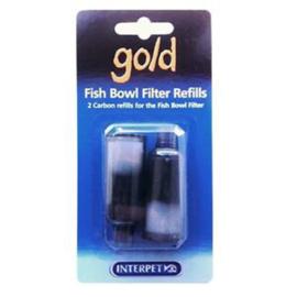 Interpet Gold Fish Bowl Filter Refills