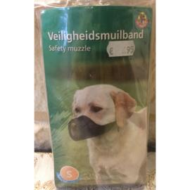 Pet products veiligheidsmuilband maat S