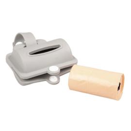 Duvo+ poo bags dispenser silicone