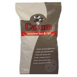 Cavom compleet lam/rijst 20kg