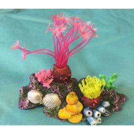 Aquarium decoratie koraalrif middel