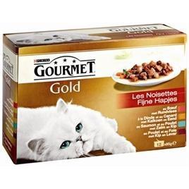 Gourmet Gold 12-pack fijne hapjes 12x85gr