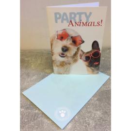 Studio Pets kaart Party Animals!