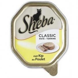 Sheba classic paté met kip 85gr 22x