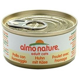 Almo Nature cat kip/kaas 70gr