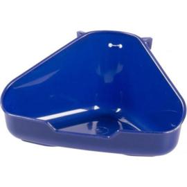 Duvo+ hoektoilet knaagdieren S blauw