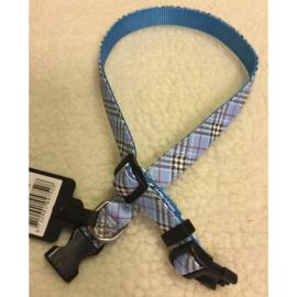 Dog fashion halsband caledonea blauw