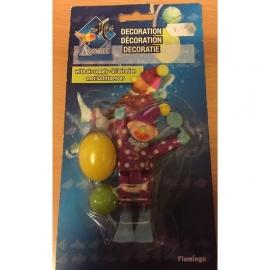 Aquality decoratie met luchttoevoer clown