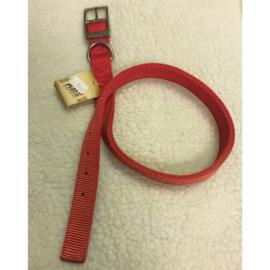 Ploeg nylon halsband rood