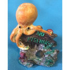Europet bernina decor No fishing octopus