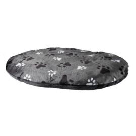 Hondenkussen grijs 60x40 cm