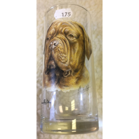 Glas Bordeaux Dog