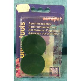 Europet aqua tools zuignap met clip 12-16 mm 2 st.
