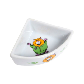 Karlie Exclusiv Design hoek voerbakje hamster