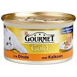 Gourmet Gold mousse kalkoen 85gr 24x