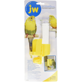 JW InSight Clean Seed – Silo Bird Feeder geel