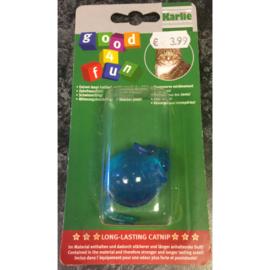 Karlie good 4 fun rubber muis met catnip