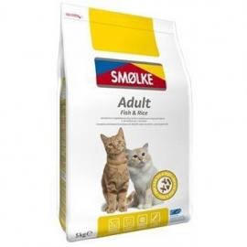 Smølke cat adult vis/rijst 5kg