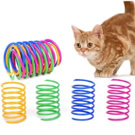 Cat spring toy 4st.