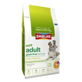 Smølke hond adult graanvrij 12kg