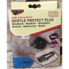 Europet bernina walk and control gentle protect plus muilkorf westie