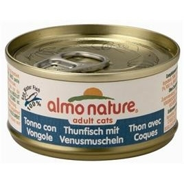 Almo Nature cat tonijn/schelpdier 70gr
