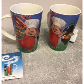 Big cup/cadeaubeker hamster bbq