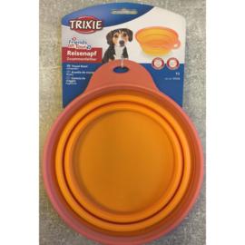 Trixie travel bowl - reis voer/drinkbak 1L