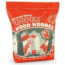 Tooper houtkorrel 6,5ltr