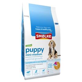 Smølke puppy mini/medium brokken 12kg