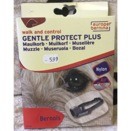 Europet bernina walk and control gentle protect plus muilkorf bernois
