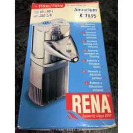Rena binnenfilter voor aquarium 10-50 ltr.