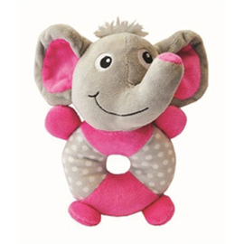 Pluche speelring olifant