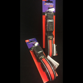 Safety Glo veiligheidshalsband met LED licht oplaadbaar L
