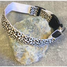 Reflecterende nylon halsband tijgerprint