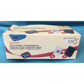 Europet bernina aqua filter 250 vervangingspatroon 4 st.