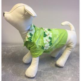 Hondenblouse bloemenprint