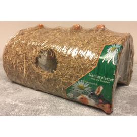 Natuurplezier voor uw huisdier eetbare hooitunnel S