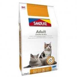 Smølke cat adult kip/rijst 2kg