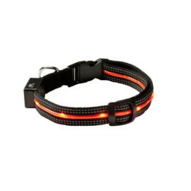 Adori veiligheidshalsband met LED oplaadbaar  M/L