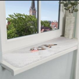 Ligmat katten voor vensterbank met leuke print